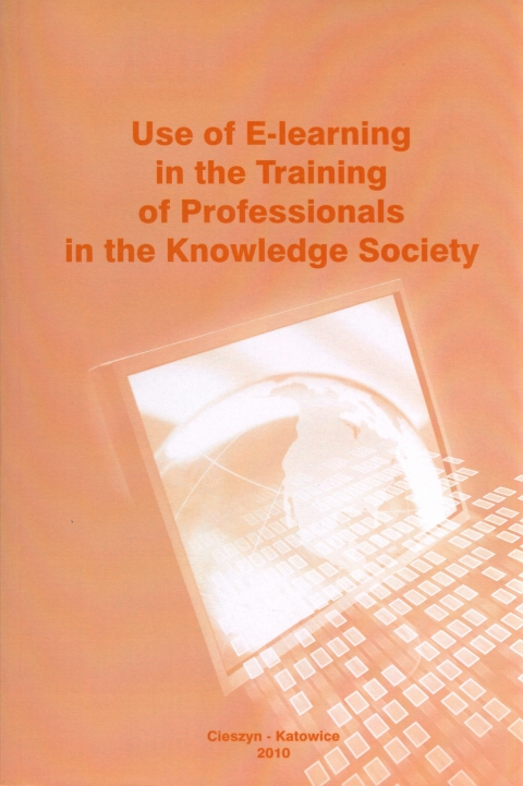 Use of E-learning in the Training of Professionals in the Knowledge Society